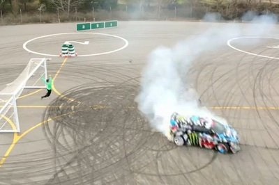 Video: Ken Block And Neymar Jr Present Castrol Footkhana