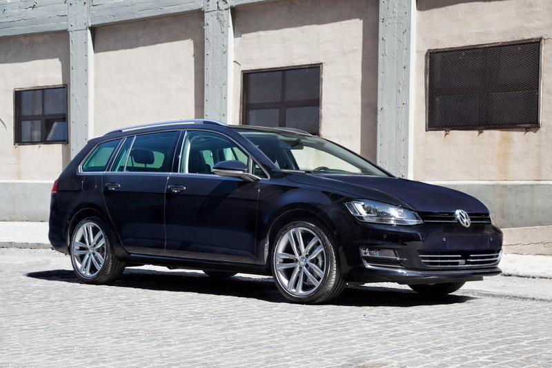 2014 Volkswagen Golf SportWagen 4Motion Concept High Resolution Exterior - image 548635