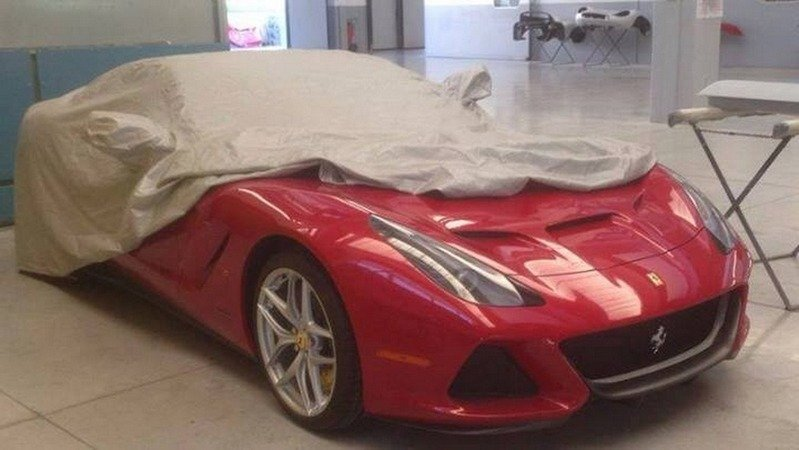 What Model is Ferrari Hiding Under This Sheet?