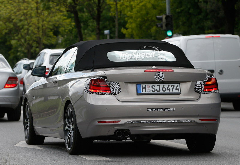Spy Shots: BMW 2 Series Cabriolet Drops Lots Of Camouflage