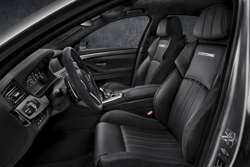 "2014 BMW M5 ""30 Years of M5"" Limited Edition Interior - image 551580"