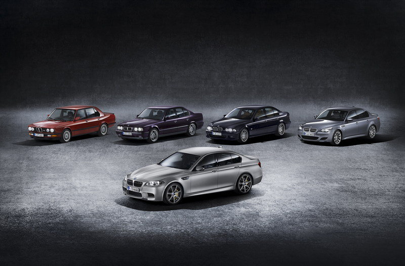 "2014 BMW M5 ""30 Years of M5"" Limited Edition High Resolution Exterior Wallpaper quality - image 551582"