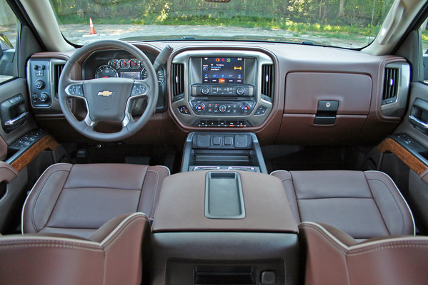 2014 chevrolet silverado high country driven car review top for Chevrolet silverado high country interior