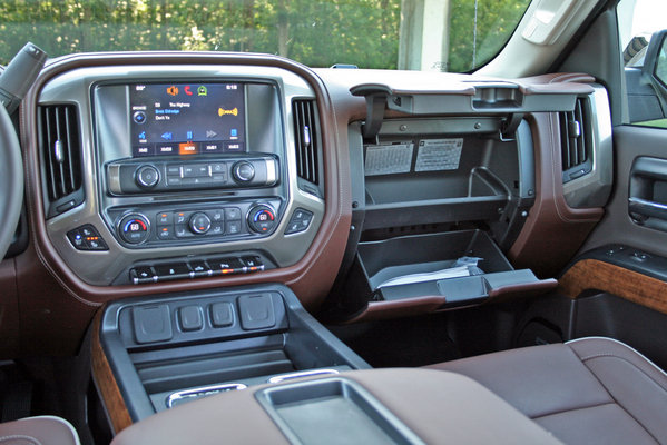 2014 chevrolet silverado high country driven car review top speed for Chevrolet silverado high country interior