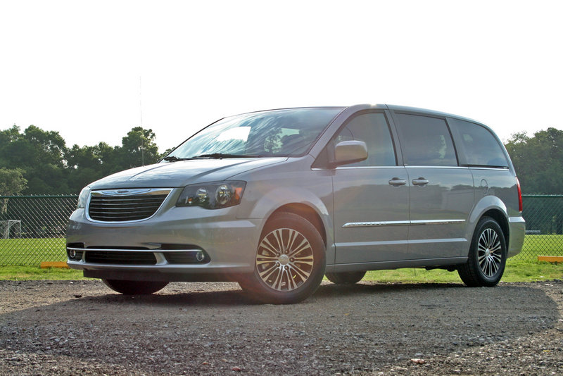 2014 Chrysler Town & Country S - Driven