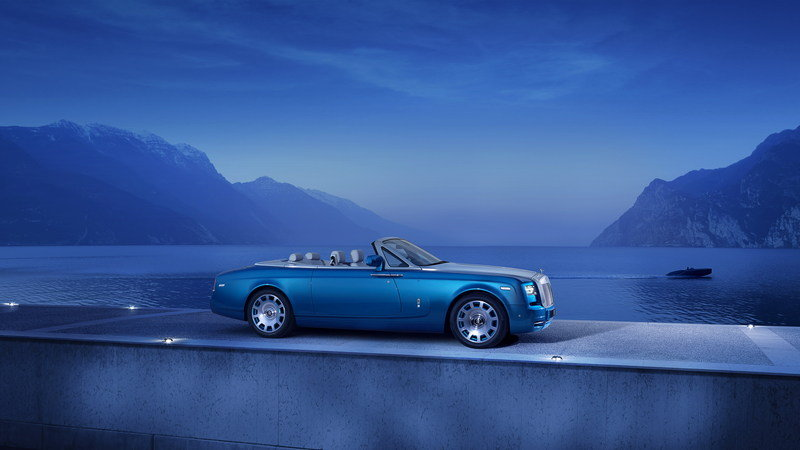2014 Rolls-Royce Phantom Drophead Coupé Bespoke Waterspeed Collection High Resolution Exterior - image 552003
