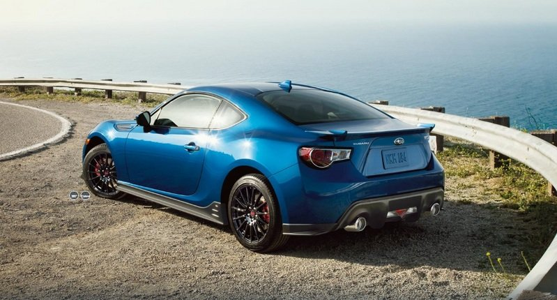 2015 Subaru BRZ Series.Blue