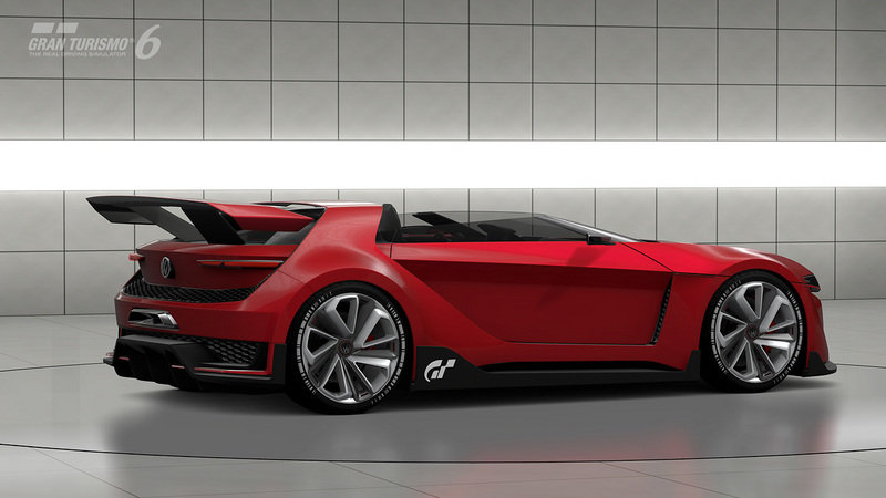 2014 Volkswagen Vision Gran Turismo Concept Screenshots / Gameplay - image 554011
