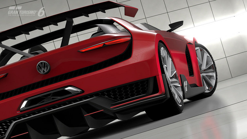 2014 Volkswagen Vision Gran Turismo Concept Screenshots / Gameplay - image 554012