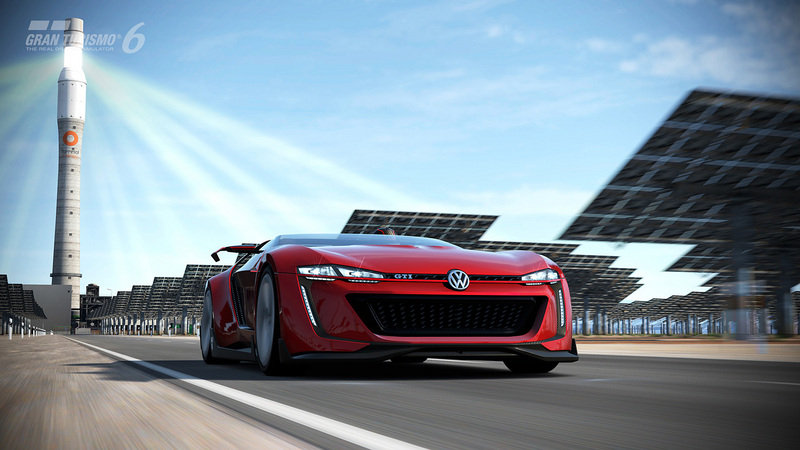 2014 Volkswagen Vision Gran Turismo Concept Screenshots / Gameplay - image 554013