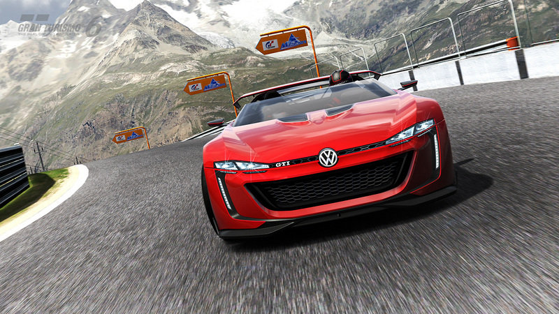 2014 Volkswagen Vision Gran Turismo Concept Screenshots / Gameplay - image 554016