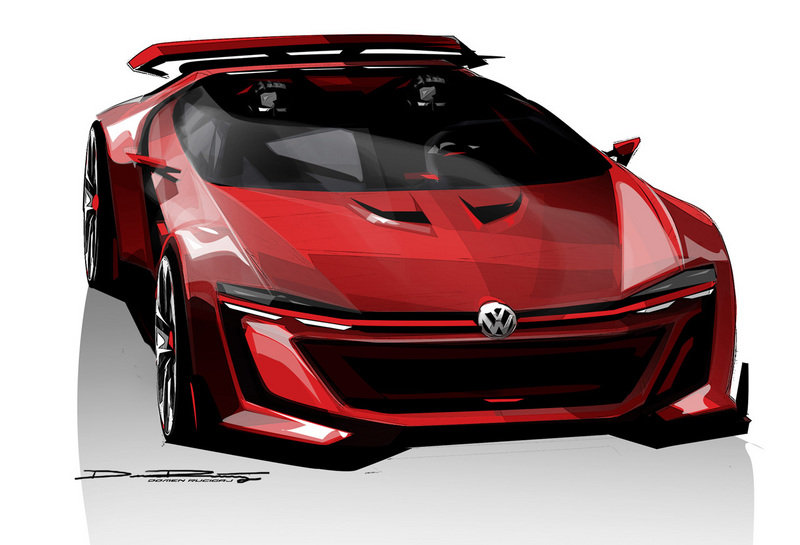 2014 Volkswagen Vision Gran Turismo Concept Drawings - image 553458