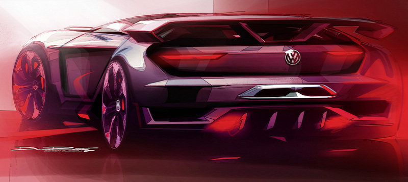 2014 Volkswagen Vision Gran Turismo Concept Drawings - image 553459