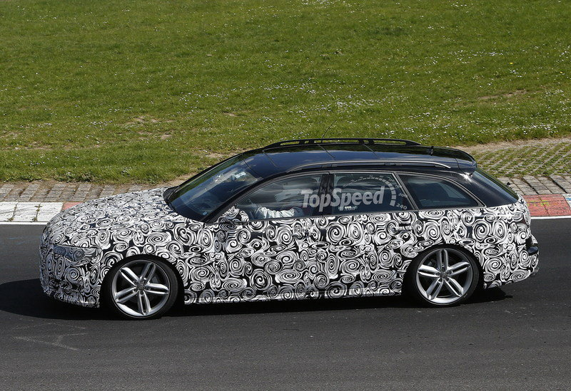 Spy Shots: Audi A6 Allroad Caught Lapping the Nurburgring Exterior Spyshots - image 552930