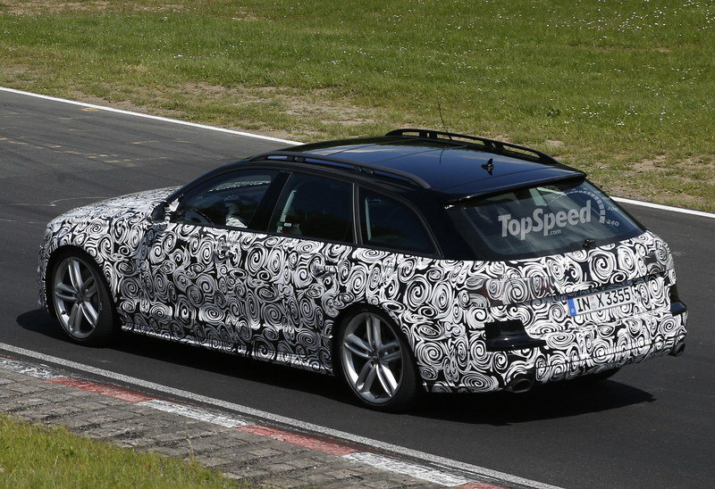 Spy Shots: Audi A6 Allroad Caught Lapping the Nurburgring