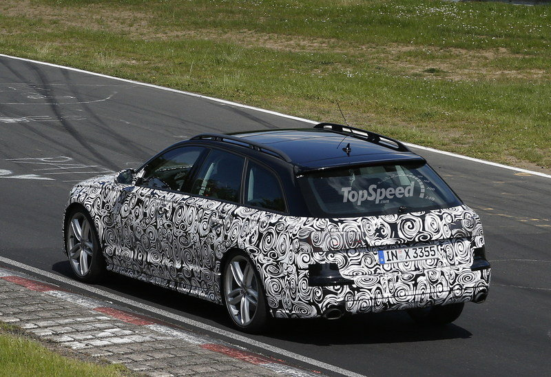 Spy Shots: Audi A6 Allroad Caught Lapping the Nurburgring Exterior Spyshots - image 552932