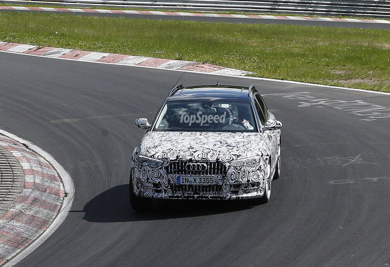 Spy Shots: Audi A6 Allroad Caught Lapping the Nurburgring Exterior Spyshots - image 552927