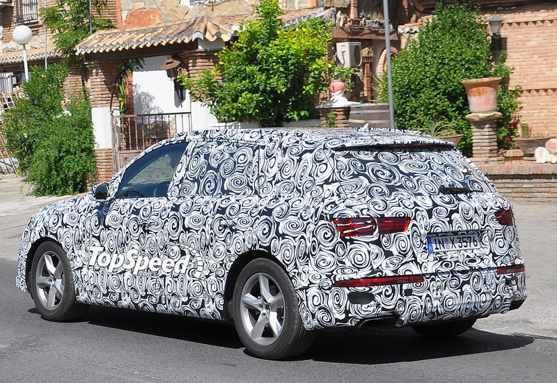Spy Shots: 2016 Audi Q7 Caught Testing