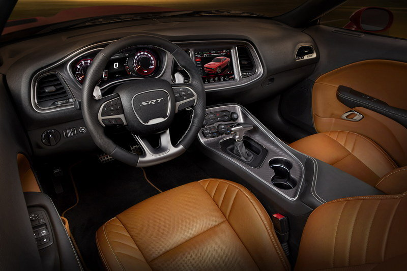 2015 Dodge Challenger SRT Hellcat High Resolution Interior - image 552784