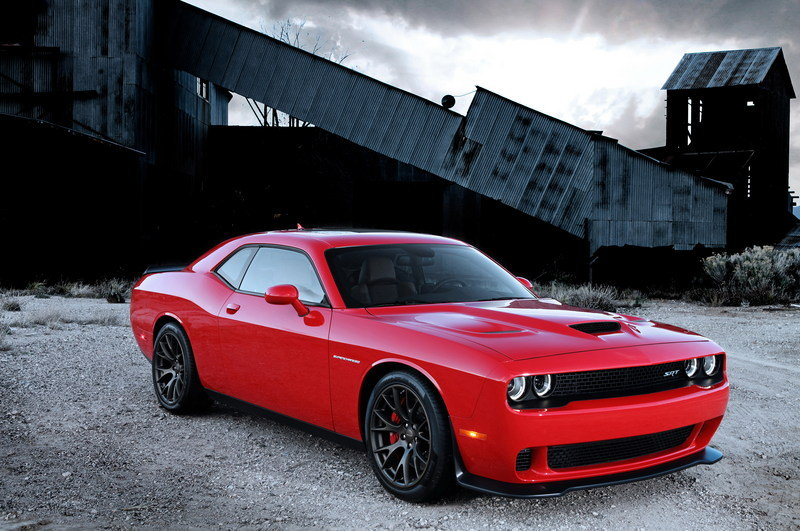 2015 Dodge Challenger SRT Hellcat High Resolution Exterior - image 552771