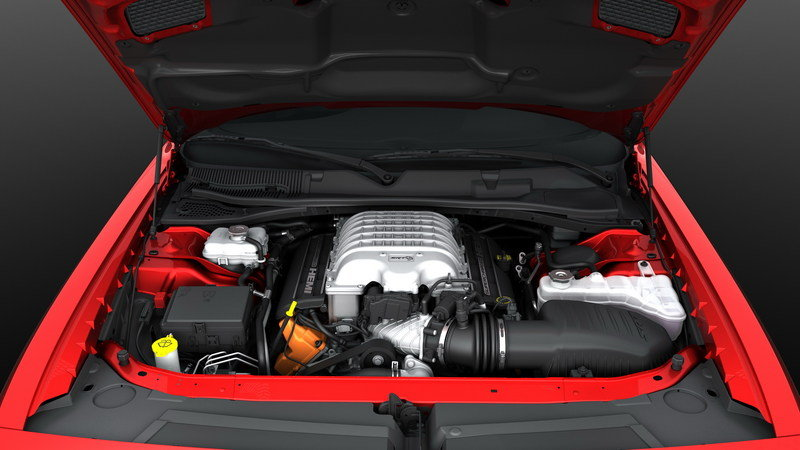 2015 Dodge Challenger SRT Hellcat High Resolution Drivetrain - image 553754