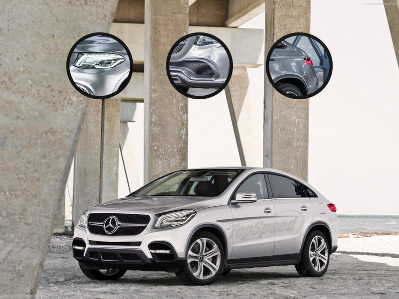 2016 Mercedes-Benz GLE Coupe Exclusive Renderings - image 551148