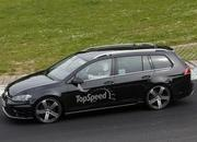 Spy Shots: 2015 Volkswagen Golf R Variant Laps the Nurburgring - image 553046
