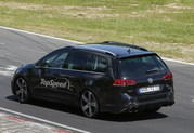 Spy Shots: 2015 Volkswagen Golf R Variant Laps the Nurburgring - image 553049