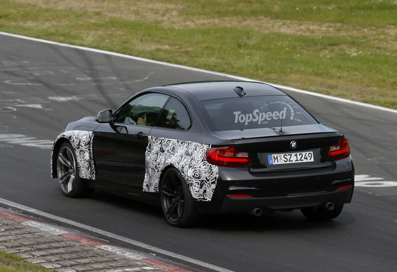 Spy Shots: 2016 BMW M2 Coupe Caught on the Nurburgring
