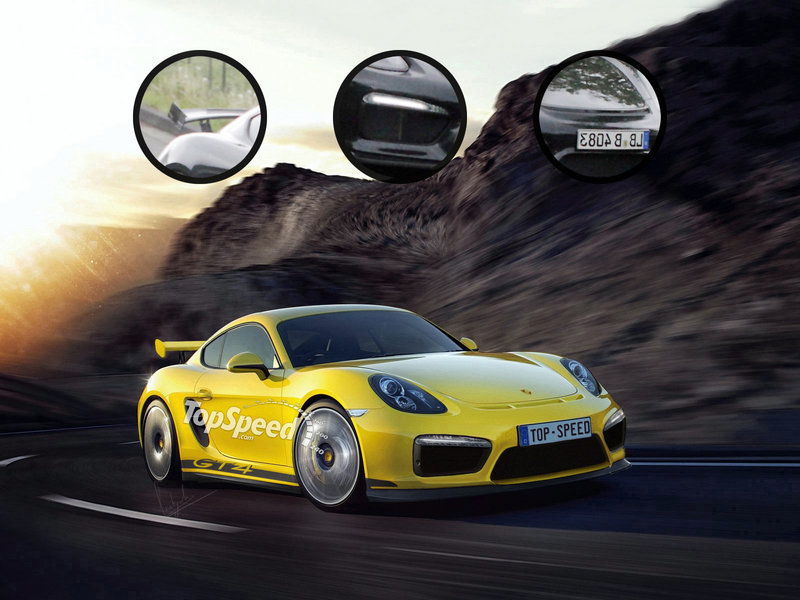 2016 Porsche Cayman GT4 Exclusive Renderings - image 552367