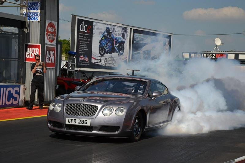 2004 Bentley Continental GT Dragster by Webster Race Engineering