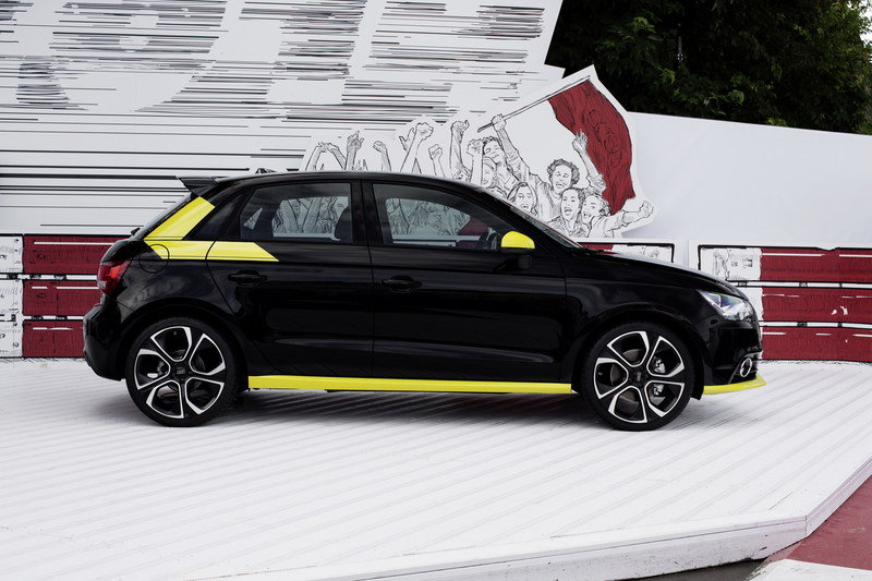 2014 Audi A1 With Audi Genuine Accessories
