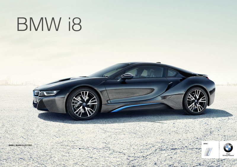 BMW Launches Global Campaign for the New i8 High Resolution Exterior - image 552050