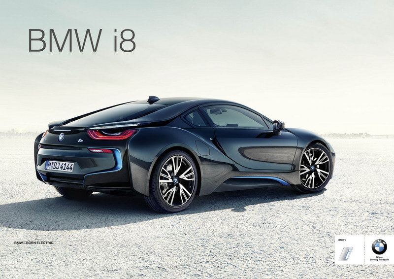 BMW Launches Global Campaign for the New i8 High Resolution Exterior - image 552051