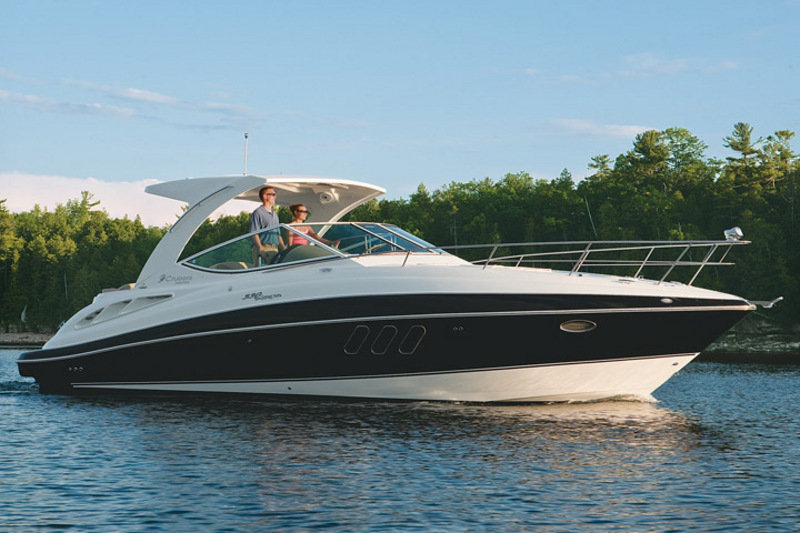 2014 Cruisers Yachts 350 Express Top Speed