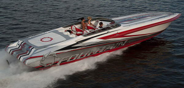 2014 Fountain 47 Lightning Boat Review Top Speed