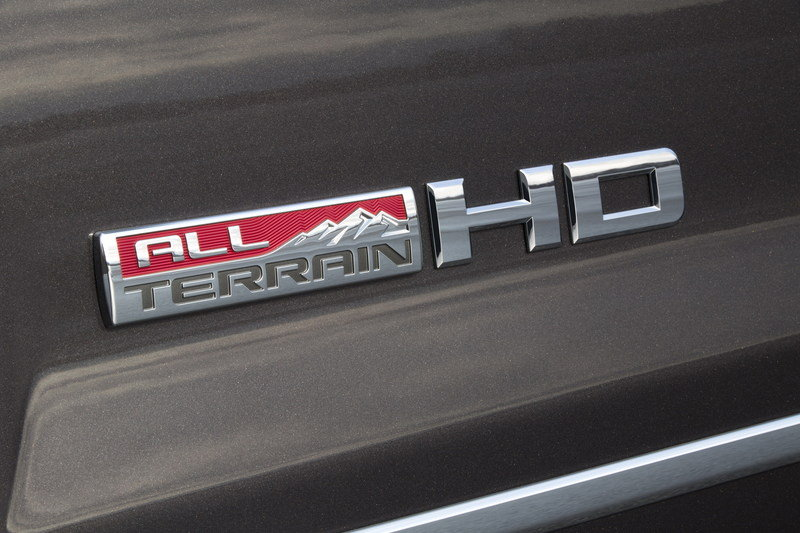 2015 GMC Sierra All Terrain HD Emblems and Logo Exterior - image 553036