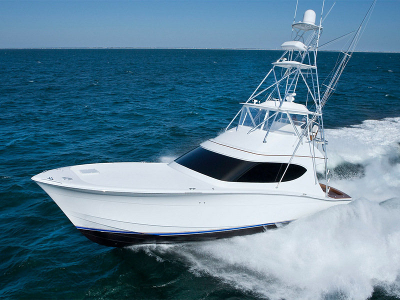 Hatteras news and reviews top speed for Hatteras fishing boat