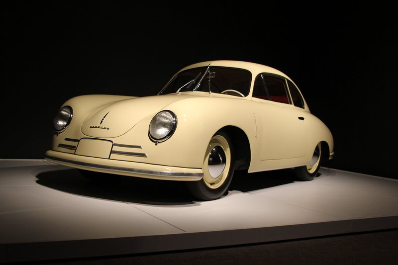 NCMA Porsche by Design: Porsche 356 Gmund Coupe