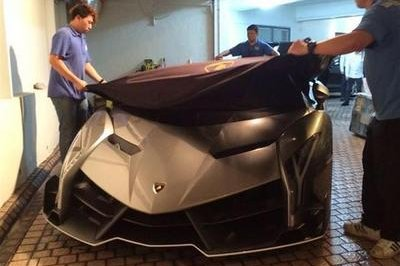 Final Lamborghini Veneno Delivered in Macau, China