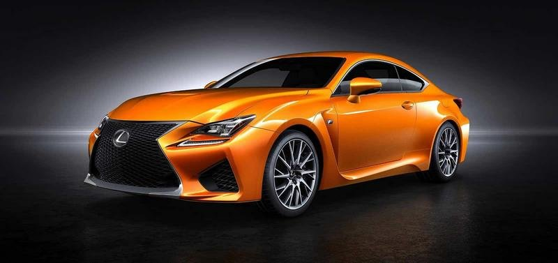 Lexus Wants Your Help Naming the Orange Shade of the RC F Coupe