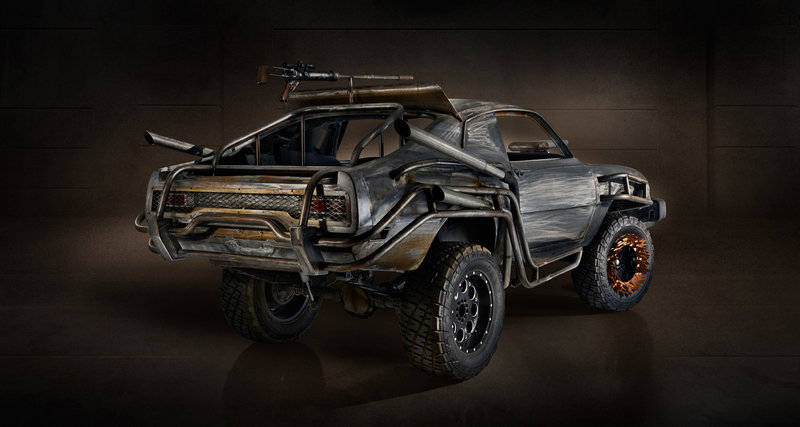 These are your wheels in the new Mad Max game: The Magnum Opus
