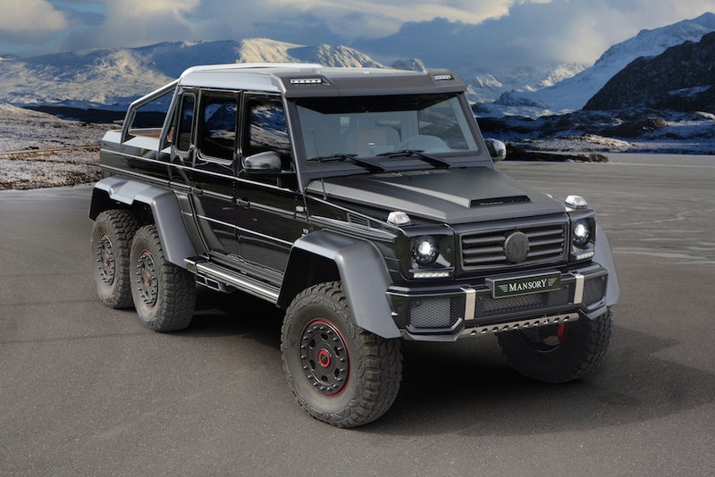 2014 Mercedes AMG G63 6x6 By Mansory