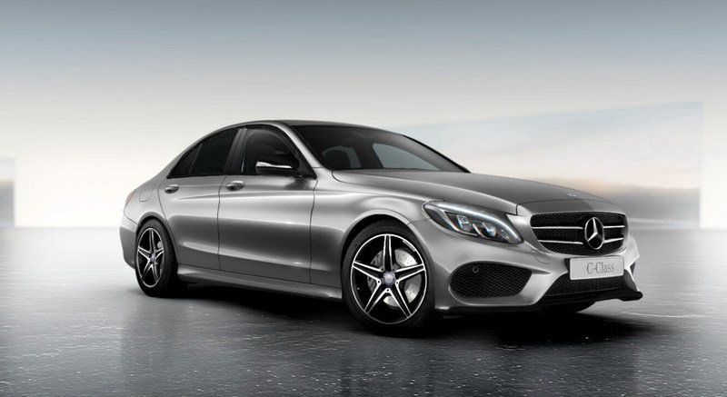 2015 Mercedes-Benz C-Class with Night Package High Resolution Exterior - image 551836