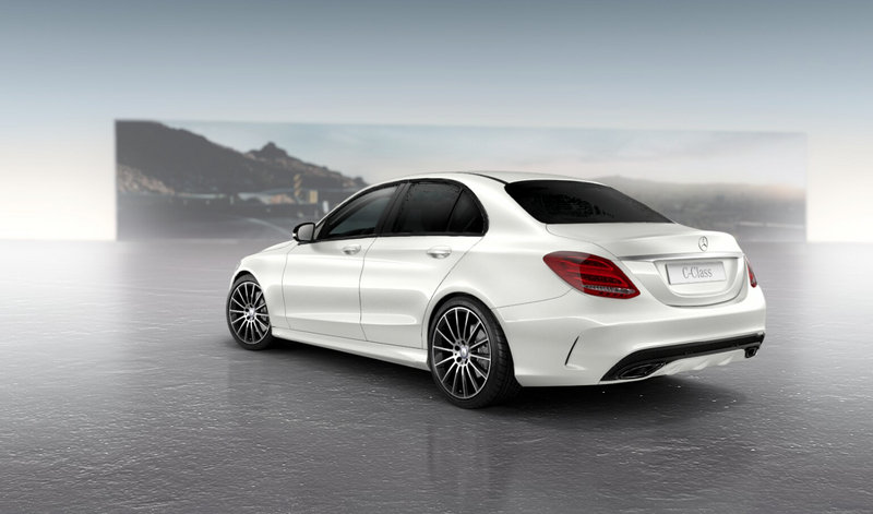 2015 Mercedes-Benz C-Class with Night Package High Resolution Exterior - image 551838