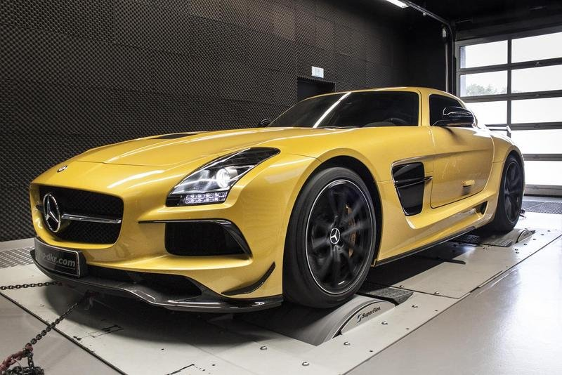 2014 Mercedes-Benz SLS 6.3 AMG Black Series by mcchip