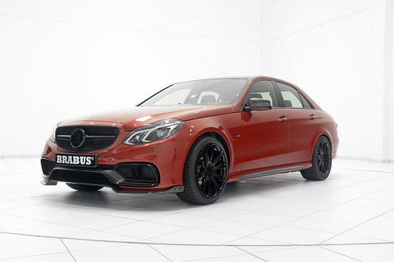 2014 Mercedes E63 AMG 850 6.0 Biturbo By Brabus High Resolution Exterior - image 552163