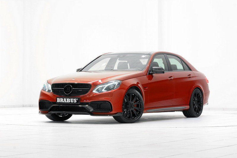 2014 Mercedes E63 AMG 850 6.0 Biturbo By Brabus High Resolution Exterior - image 552153