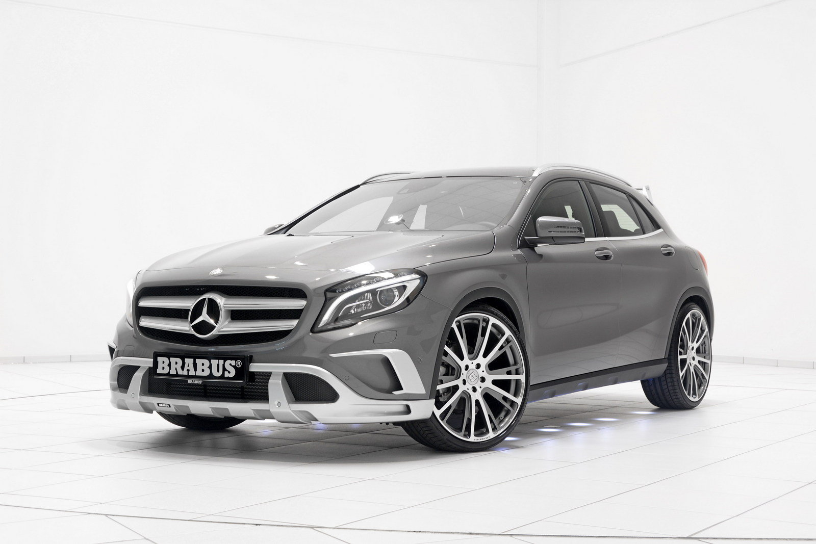 2015 mercedes gla class by brabus review top speed. Black Bedroom Furniture Sets. Home Design Ideas