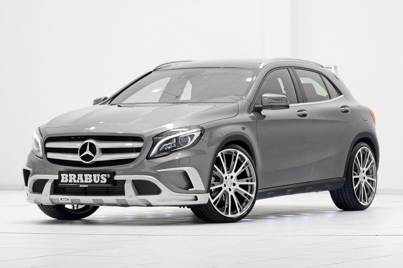 2015 Mercedes GLA-Class By Brabus High Resolution Exterior - image 553531
